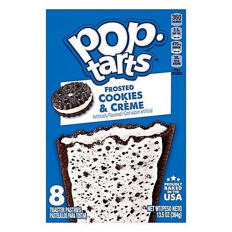 Pop-Tarts Breakfast Toaster Pastries Cookies and Crme - 13.5 Oz