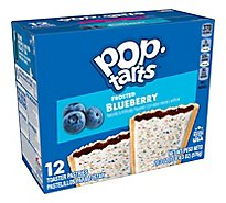 Pop-Tarts Toaster Pastries Frosted Blueberry 12 Count - 20.3 Oz