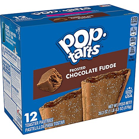Pop-Tarts Breakfast Toaster Pastries Frosted Chocolate Fudge - 20.3 Oz