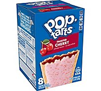 Pop-Tarts Breakfast Toaster Pastries Frosted Cherry - 13.5 Oz