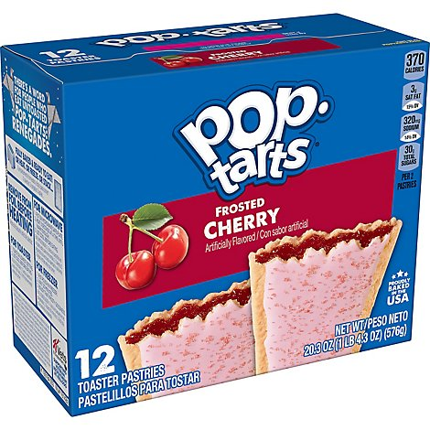Pop-Tarts Breakfast Toaster Pastries Frosted Cherry - 20.3 Oz