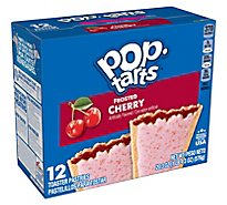 Pop-Tarts Toaster Pastries Frosted Cherry 12 Count - 20.3 Oz