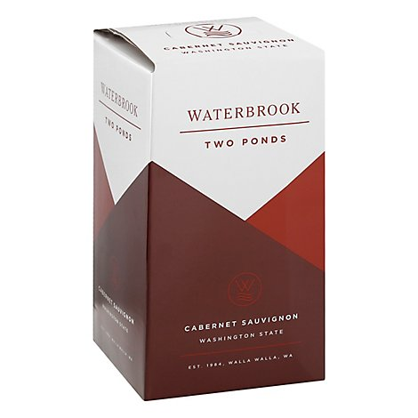 Waterbrook Two Ponds Cabernet Sauvignon Wine - 3 Liter