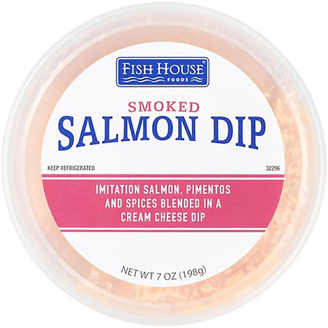 Resers Imitation Smoked Salmon Dip - 7 Oz