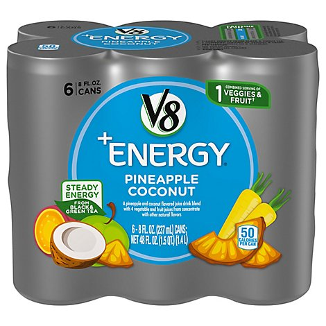 V8 Beverage Pineapple Coconut - 48 Fl. Oz.
