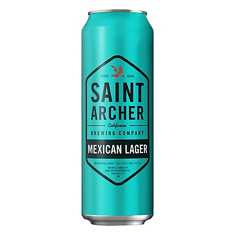 Saint Archer Mex Lager In Cans - 19.2 Fl. Oz.
