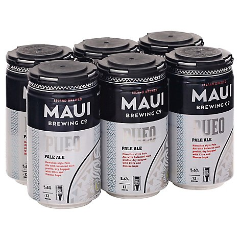 Maui Brewing Pueo Pale Ale In Cans - 6-12 Fl. Oz.