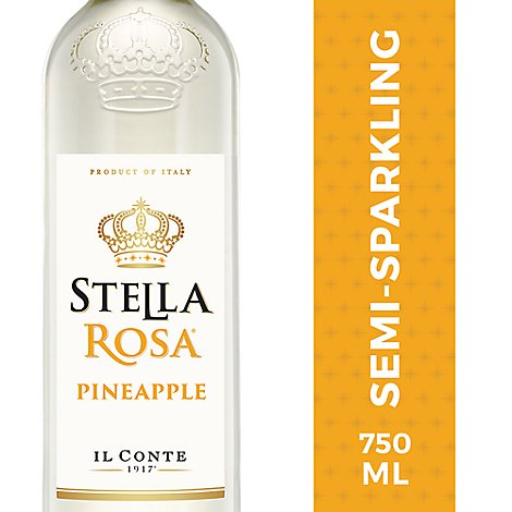 Il Conte Stella Rosa Pineapple Wine - 750 Ml