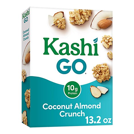 Kashi Go Cereal Coconut Almond Crunch - 13.5 Oz