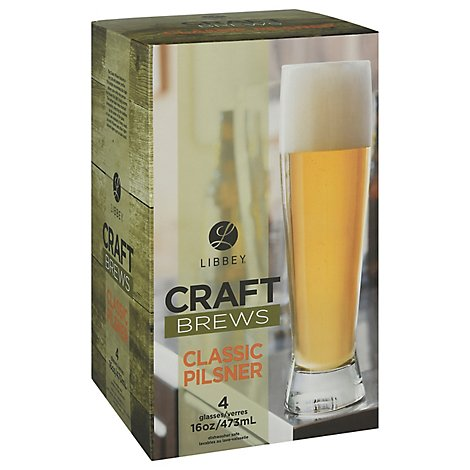 Libbe Craft Brew Clsc Pilsner St 4pc - Each