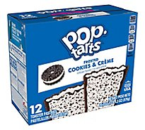 Kelloggs Pop-Tarts Cookies & Creme - 20.3 Oz