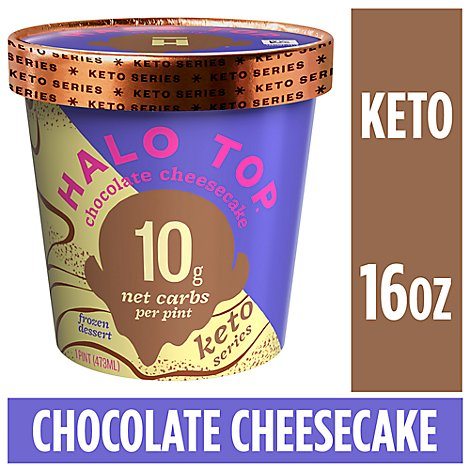 Halo Top Keto Chocolate Cheesecake - Pint