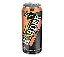 Mikes Harder Peach In Cans - 23.5 Fl. Oz.