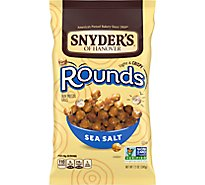 Soh Pretzel Rounds Sea Salt - 12 Oz