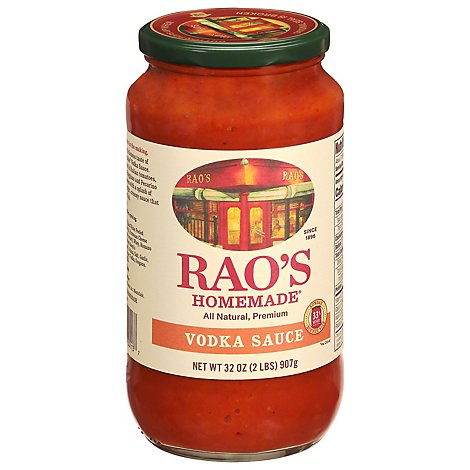 Raos Sauce Vodka - 32 Oz