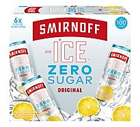 Smirnoff Ice Zero In Bottles - 6-11.2 Fl. Oz.