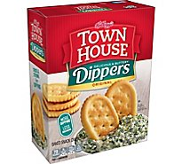 Keebler Town House Crackers Original Dippers - 13 Oz