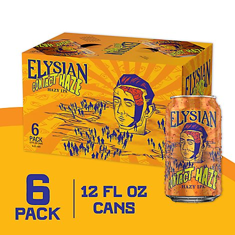 Elysian Contact Haze In Cans - 6-12 Fl. Oz.