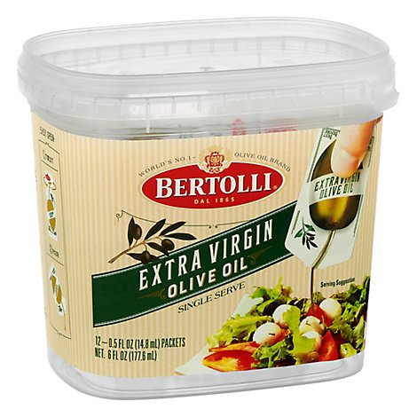Bertolli Extra Virgin Olive Oil 12 - 6 Fl. Oz.