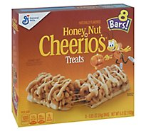 General Mills Cheerios Treats Bars Honey Nut 8 Count - 6.8 Oz