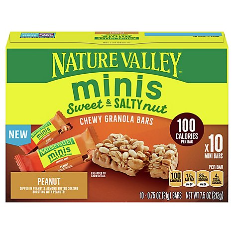 Nature Valley Sweet Salty Minis Peanut Grain Snacks 7 5 Oz Safeway