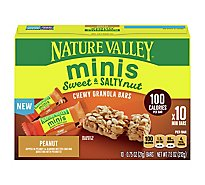 Nature Valley Sweet Salty Minis Peanut Grain Snacks - 7.5 Oz