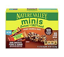 Nature Valley Sweet & Salty Minis Dark Chocolate Peanut Almond - 7.5 Oz