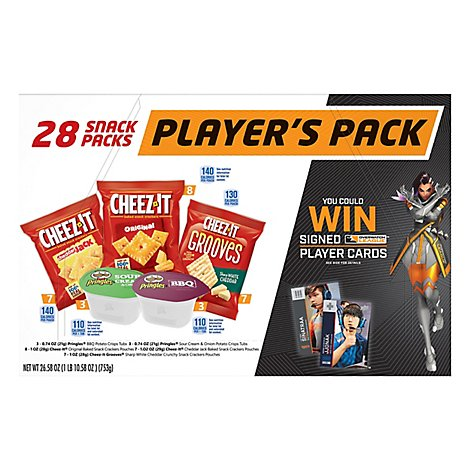 Overwatch Players Pack Variety Pack 28 Count - 26.58 Oz