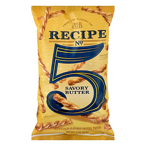 Rold Gold Recipe No 5 Savory Butter Pretzel Twist - 11 Oz