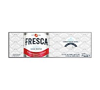 Fresca Soda Water Sparkling Unsweetened Strawberry Citrus - 12-12 Fl. Oz.