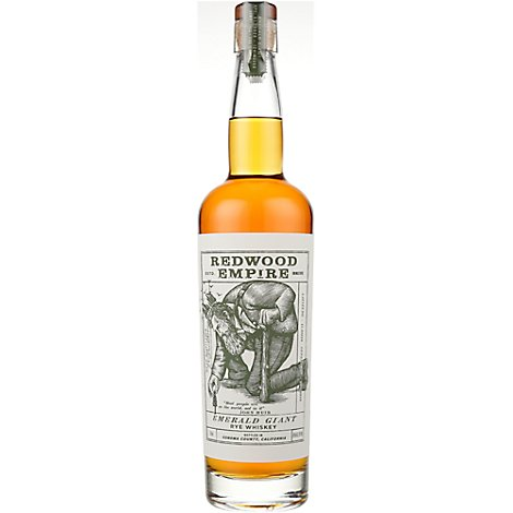 Redwood Empire Emerald Giant Rye Whiskey - 750 Ml