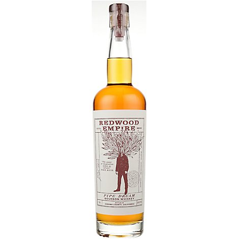 Redwood Empire Pipe Dream Bourbon Whiskey - 750 Ml