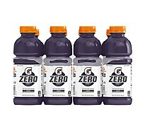 Gatorade G Zero Grape - 8-20 Fl. Oz.