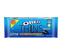 OREO Thins Sandwich Cookies Dark Chocolate - 11.6 Oz