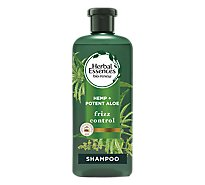 Herbal Essences Bio Renew Shampoo Frizz Control Sulfate Free Hemp Plus Potent Aloe - 13.5 Fl. Oz.