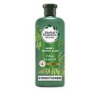 Herbal Essences Bio Renew Conditioner For Frizz Hemp Plus Potent Aloe - 13.5 Fl. Oz.