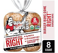 Daves Killer Bread Organic 8ct White Bread Done Right - 17.6 Oz