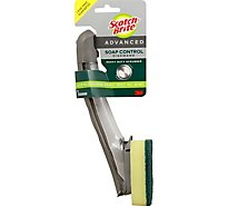 Scotch-Brite Advanced Dishwand Soap Control Heavy Duty Scrubber - Each