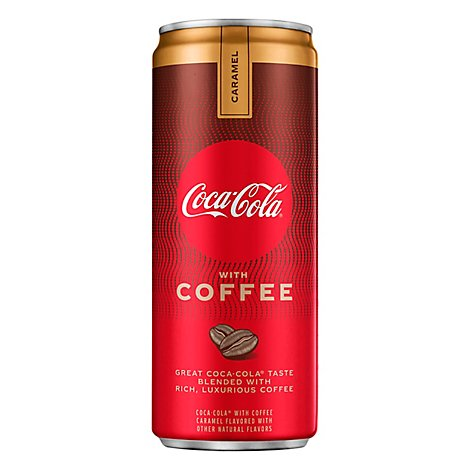 Coca-Cola Soda with Coffee Caramel Can - 12 Fl. Oz.