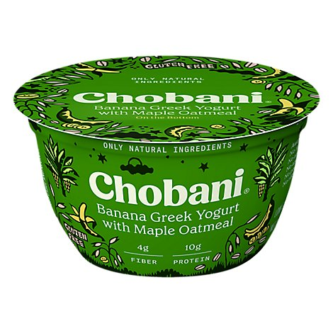 Chobani Greek Plus Oats Banana - 5.3 Oz