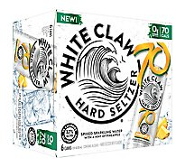 White Claw 70 Pineapple In Cans - 6-12 Fl. Oz.