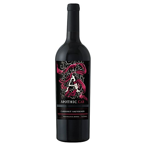 Apothic Cab Red Wine Cabernet Sauvignon California - 750 Ml