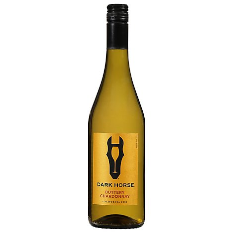 Dark Horse White Wine Buttery Chardonnay California 2018 - 750 Ml