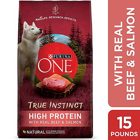 One Dog Food Dry Smartblend Beef & Salmon - 15 Lb