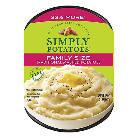 Simply Traditional Mashed Potato - 32 Oz