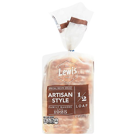 Lewis Bake Shop Artisan Style Bread - 12 Oz