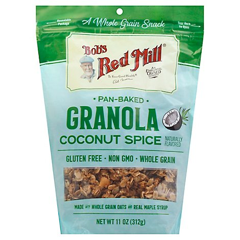 Bobs Red Mill Granola Homestyle Coconut Spice - 11 Oz