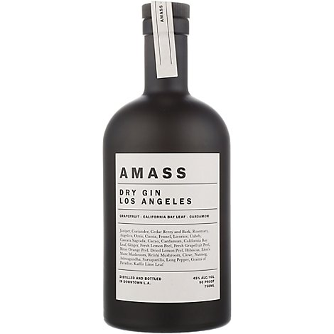 Amass Los Angeles Dry Gin - 750 Ml
