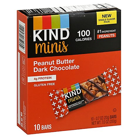 Kind Peanut Butter Dark Chocolate Minis - 7 Oz