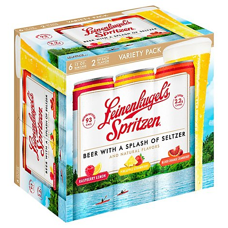 Leinenkugels Beer Spritzen Variety In Cans - 6 - 12 Fl. Oz.